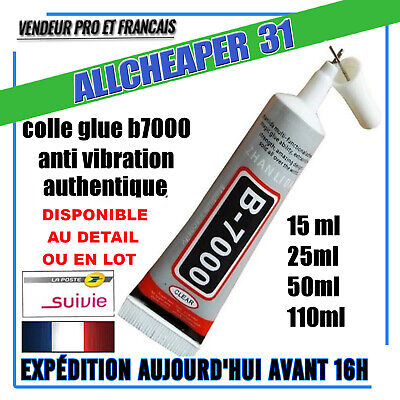 Colle B7000 Vitre Lcd Chassis Etancheite Anti-Vibration 15/25/50/110Ml En Lot