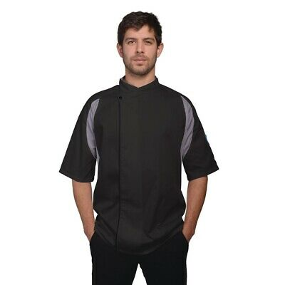 Le Chef Staycool Executive Tunic Black XXL BARGAIN