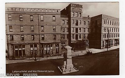 Northern Ireland, Larne, Laharna Hotel And War Memorial, Rp