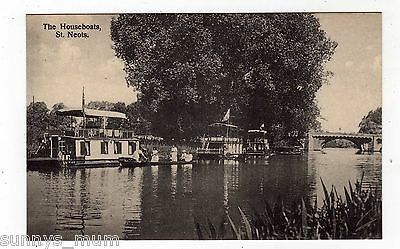 Huntingdonshire, St. Neots, The Houseboats