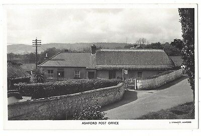 ASHFORD Co Wicklow, The Post Office, RP Postcard by Synnott, Unused