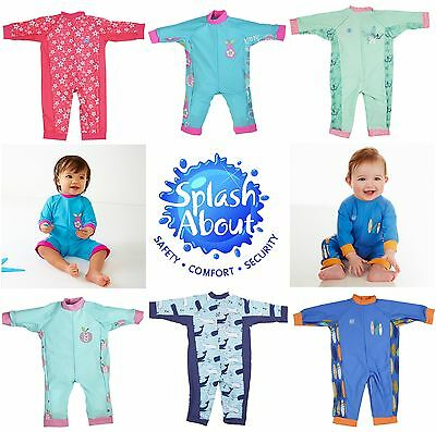 Splash About Kids UV All In One Baby & Toddler Sun Protection Suit 0-24 Months
