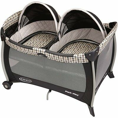 Graco Pack 'n Play Twin Playard with Twins Bassinet - Vance | 1812884