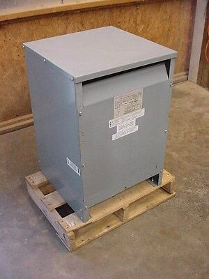 Square D 34 KVA STEP UP Transformer 34T143HCUDIT LV 230 to 480Y/266 Copper wound