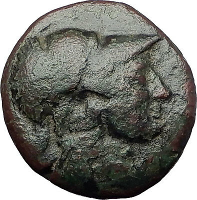 ANTIGONOS II GONATAS 277BC Pan Athena Gallic Victory Macedonia Greek Coin i60803