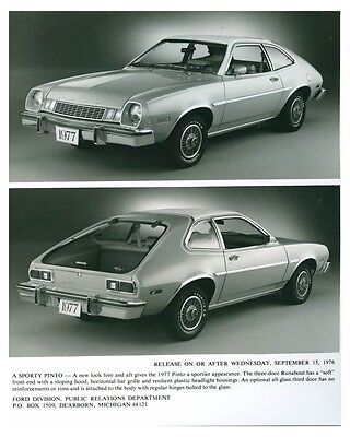 1977 Ford Pinto Runabout ORIGINAL Factory Photo och5766