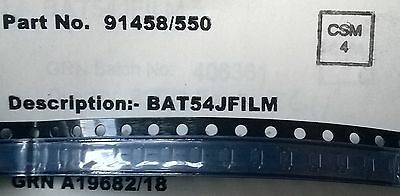 STM  BAT54JFILM 40V 0.3A 2-Pin SOD-323  Small Signal Schottky Diode