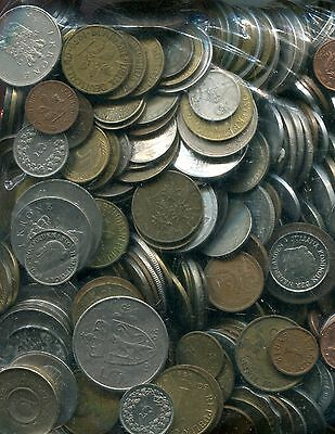 10 Pounds Mixed World Coins-Free Shipping-U.S.Only