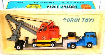 Corgi Gift Set No. 27 Bedford Low Loader & Priestman Shovel - Mint/boxed
