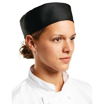 Whites Chefs Skull Cap Black XL BARGAIN