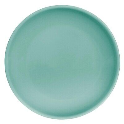 Olympia (Pack of 12) Cafe Coupe Plate 200mm Aqua BARGAIN