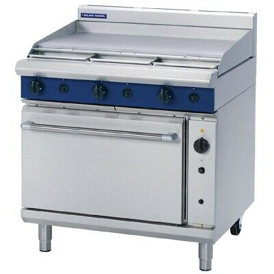Blue Seal 900Mm Convection Oven Range Griddle Hot Plate Flat Top Lpg G56A