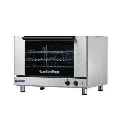 Commercial Turbofan 3X Full Size Tray Manual Electric Convection Oven E27M3