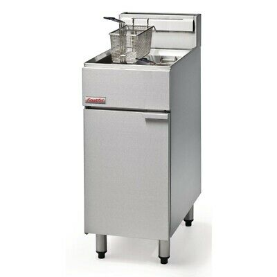 Commercial Fastfri Lpg Gas Deep Fryer Fish Chips Seafood Frying Machine Ff18