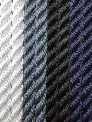 Mooring rope - 3 Strand 16mm - Floating - Fishing - Various Colours/Lengths