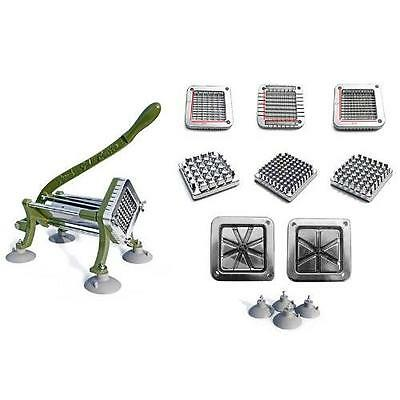 New Star 38408 Commercial Grade French Fry Cutter, Complete Combo Sets New