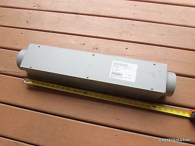 "Appleton #1225, 3"" X 24"" Junction Wire Pull Box, Steel, NEW/1225"