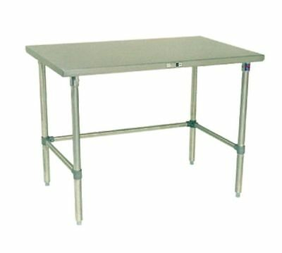 "Work Table, 109"" - 120"", Stainless Steel Top, John Boos ST6-30120GBK-X"
