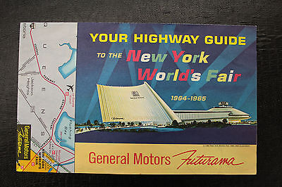 Highway Guide to The 1964-65 New York World's Fair by General Motors Futurama