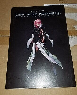 THE ART of LIGHTNING RETURNS FINAL FANTASY XIII Book Square Enix 2013