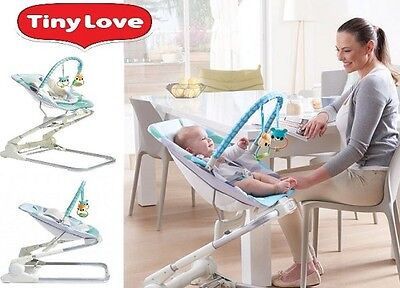 Tiny Love 3 in 1 Bouncer Portable Activity centre Baby 0m+20 - Close to Me