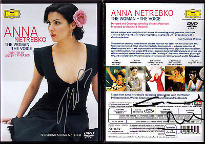DVD Anna NETREBKO & Gianandrea NOSEDA Signed THE WOMAN THE VOICE Rusalka Boheme