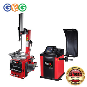 Eurotek Tyre Changer and Wheel Balancer Package 2 Over stock sale - discounted