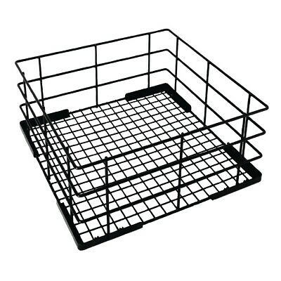 Vogue Wire High Sided Glass Basket 400mm BARGAIN
