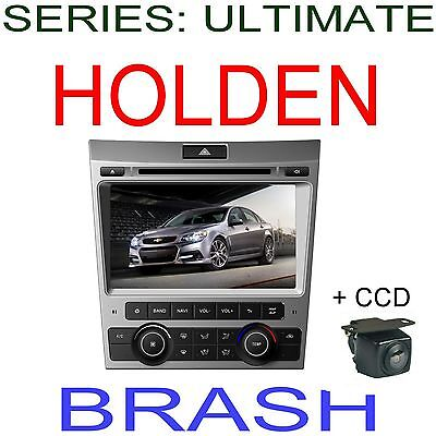 """8"""" Ve Commodore Series 1  Dvd Gps Navigtion B/tooth Stereo Am/fm + Ccd Camera"""