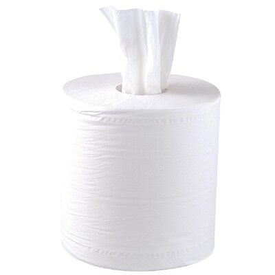 Jantex Centrefeed White Roll Paper Towels BARGAIN
