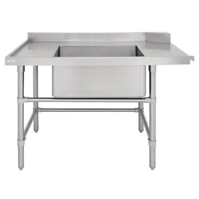 Vogue Dishwasher Inlet Table with Sink L 1200mm BARGAIN
