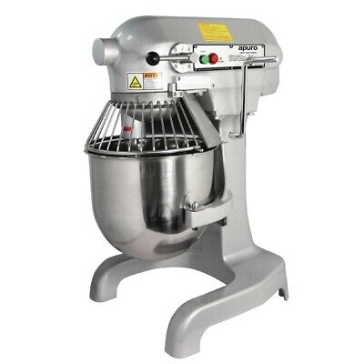 Commercial Apuro Planetary Pizza Bread Cake Bakery Baker Dough Mixer 10Ltr