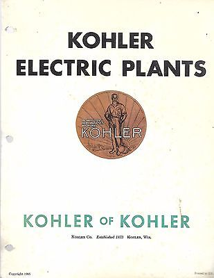 "Kohler Promotional Material & ""The Village"" Great place to raise family brochure"