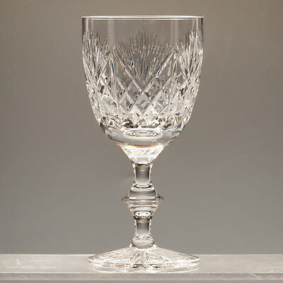 """Edinburgh Crystal Iona Wine Glasses h 5.25"""" Signed more available"""