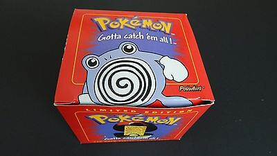 Burger King Pokemon 23 Karat Gold Plated Trading Card - Poliwhirl- Red Box 1999