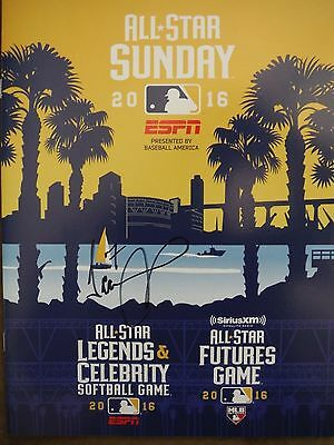 2016 Mlb All Star Futures Game Program Signed By Chicago Cubs Jeimer Candelario