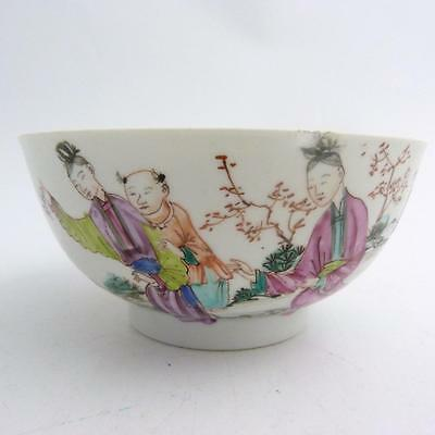 18Th Century Chinese Mandarin Pattern Porcelain Bowl