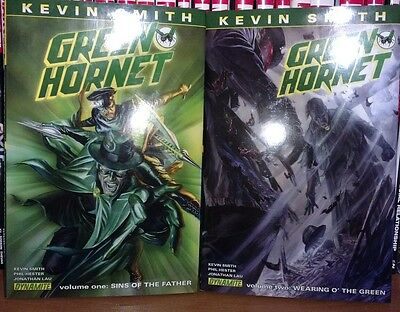 Kevin Smith's complete Green Hornet Hardcover 1 2 sins of the father HC set lot