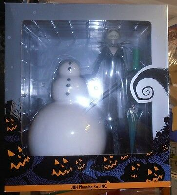 NIGHTMARE BEFORE CHRISTMAS.SNOWMAN JACK COLLECTORS DOLL.No253.LIMITED EDITION