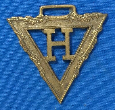 Original Antique HUDSON Motor Car AUTOMobile Advertising Die Cut WATCH FOB