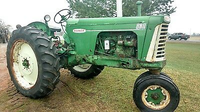 oliver 880 farm tractor VERY RARE MIST GREEN 1 of 249 built!!!!!