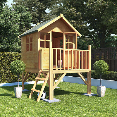 6x5 BillyOh Bunny Max Tower Childrens Wooden Playhouse Outdoor Playground