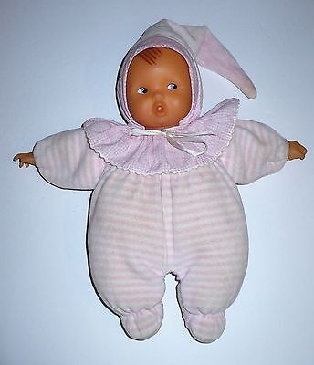 """Corolle Baby's First Pink Soft Velour Body 12"""" Doll"""