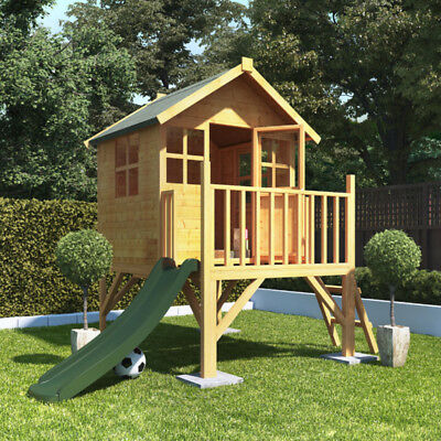 6x7 BillyOh Bunny Max Tower Childrens Wooden Playhouse Outdoor Play with Slide