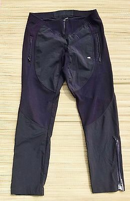 Assos DB Dopo Bici Dyora Unisex Black Athletic After Bike Track Pants Medium