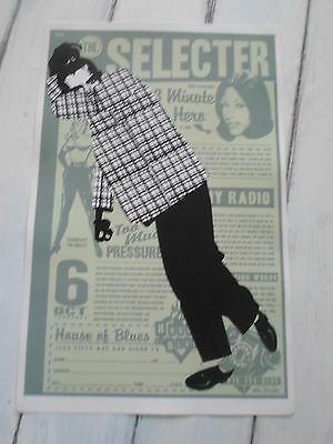 """THE SELECTOR Concert Poster 3 MINUTE HERO 11""""x17"""""""