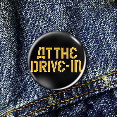 At The Drive In Pin Button Badge 1 x 25mm Badge