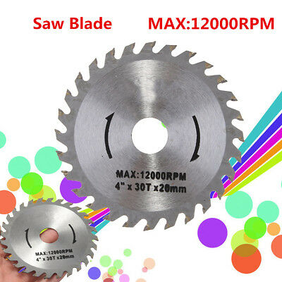 Angle Grinder Saw Blade For Wood Cutting Circular Drill Power Tool 110MM 28T