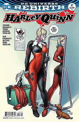 HARLEY QUINN #17, VARIANT, New, First Print, DC REBIRTH (2017)