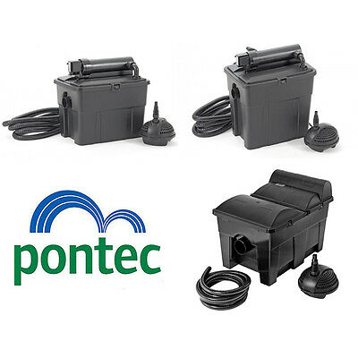 Oase Pontec Multiclear Pond Box Filter Set Koi Fish Pond Garden Filter